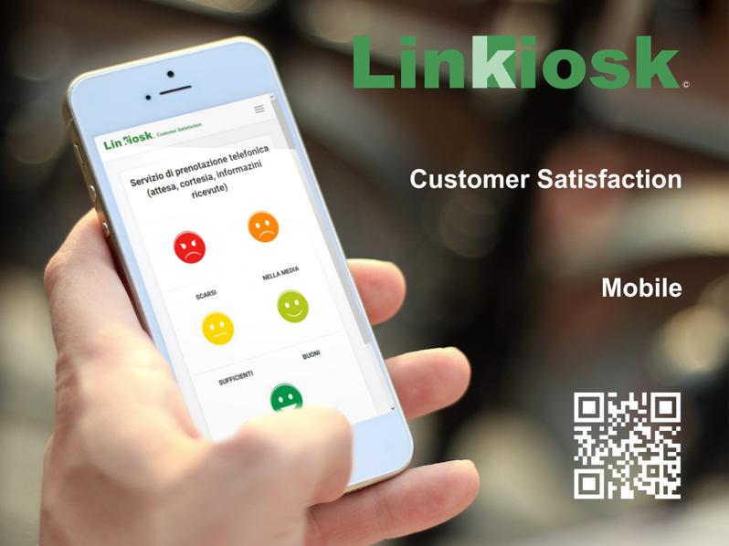 Linkiosk :: Totem informativi | Customer Satisfaction